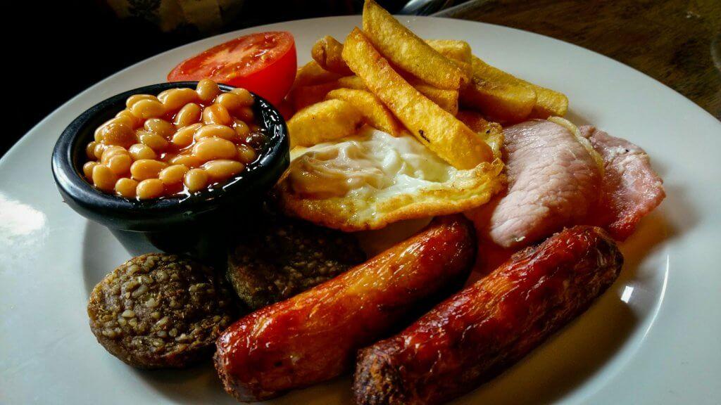 Ireland Dublin Galway Full Irish Breakfast