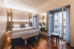 Spain Madrid Hotel Preciados double room