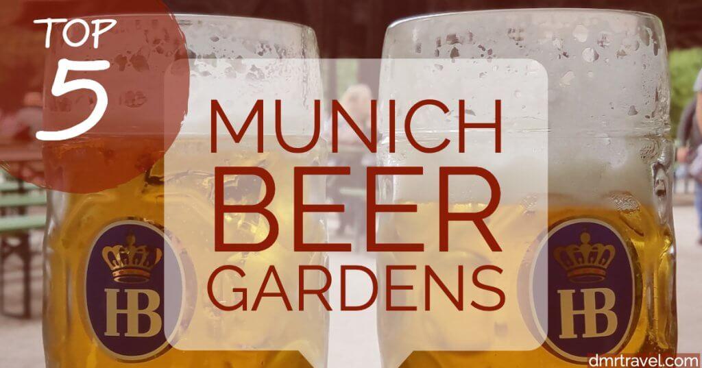 Top 5 Best Munich Beer Gardens, Biergartens in Germany liter beer