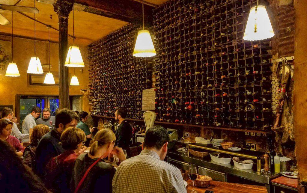Madrid Spain El Tempranillo Restaurant Tapas and Wine