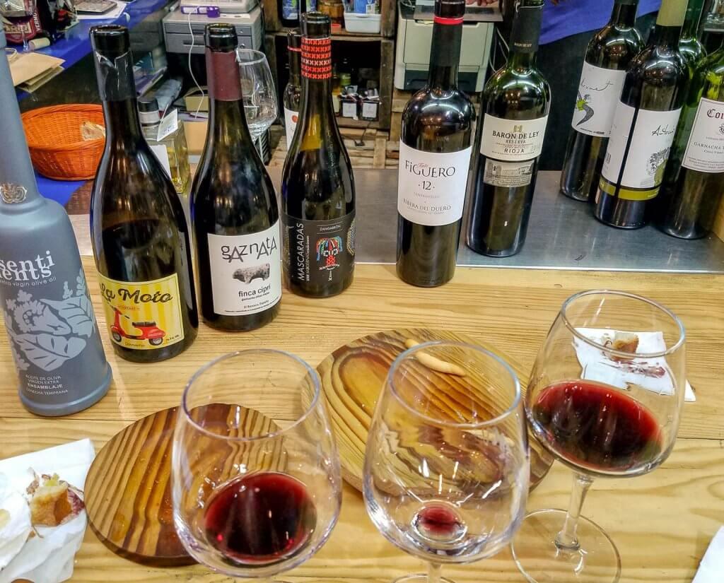 Madrid Spain Spanish Red Wine Tasting