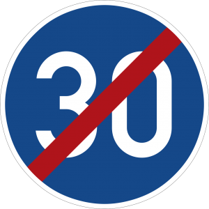 Germany end minimum speed limit