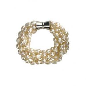 British Museum Baroque pearl bracelet
