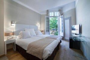 Aix en Provence, Hotel de France double room
