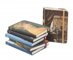 Vienna notebooks with art covers