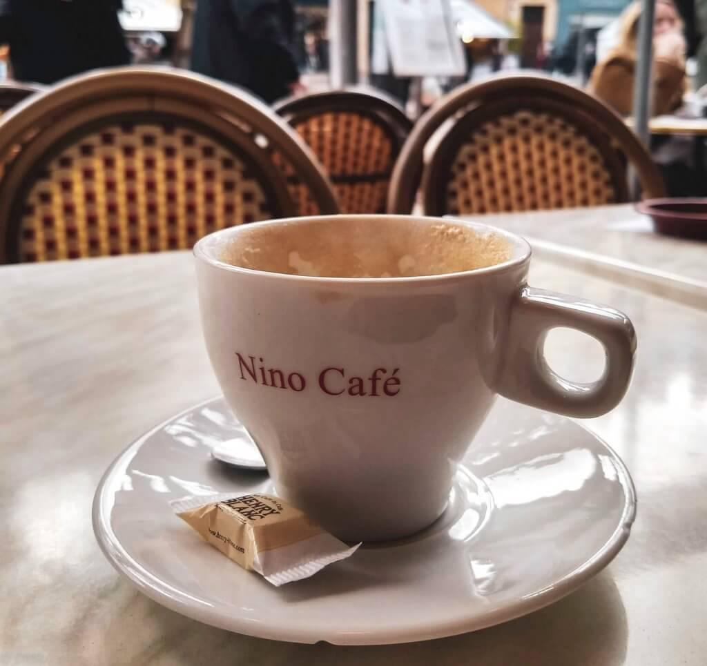 France Aix-en-Provence Nino cafe coffee