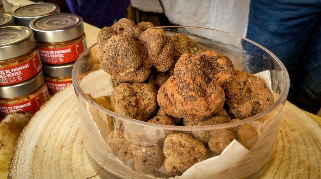 France Aix-en-Provence Market Truffles