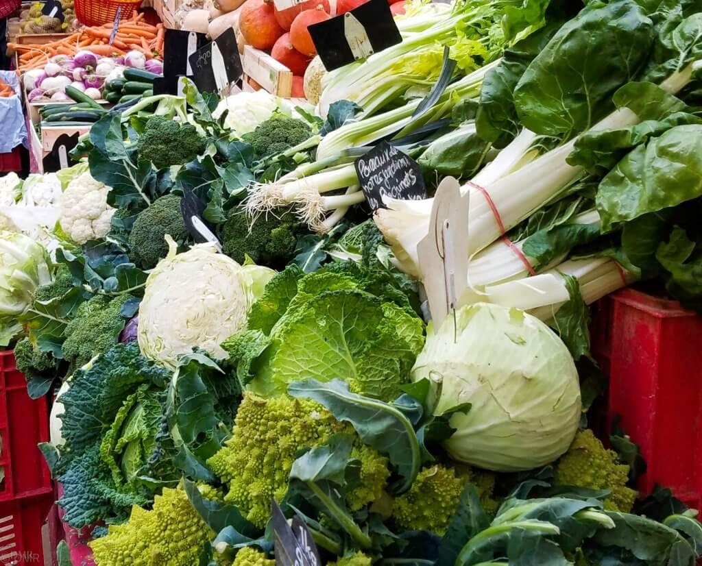 France Aix-en-Provence market vegetables