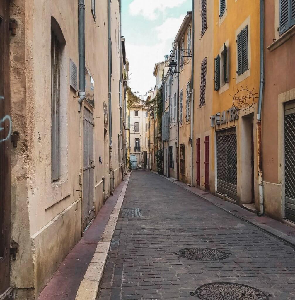 France Marseille Le Panier street