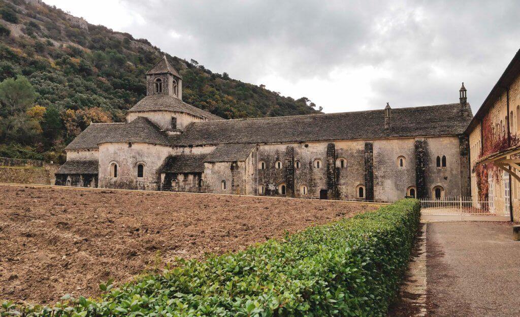France Provence Abbaye Notre Dame de Sénanque November