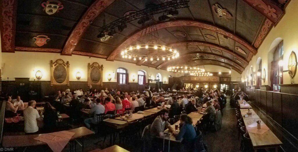 Germany Munich Augustiner Beer Hall Interior