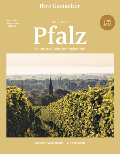 Germany Wine Road weinstrasse brochure 2019_2020 cover page