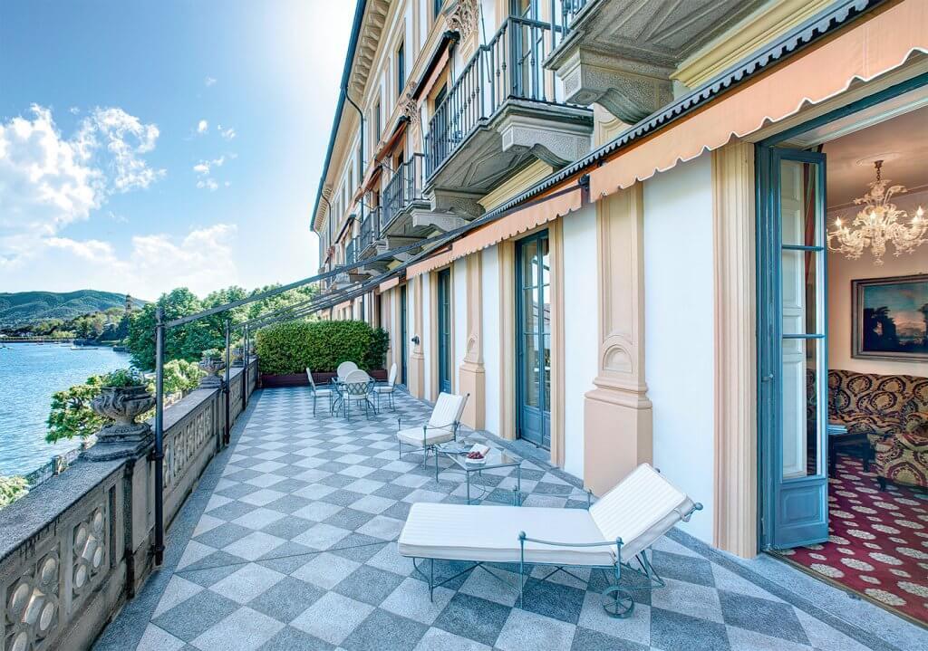 Villa DEste balcony suite Lake Como, Italy