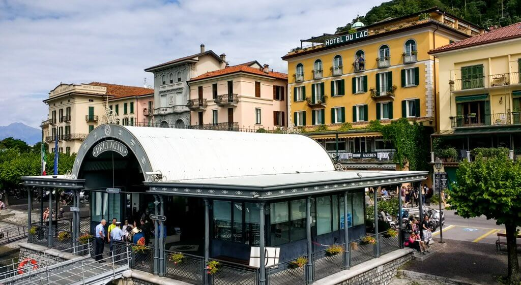 Lake Como Italy Bellagio Ferry Dock