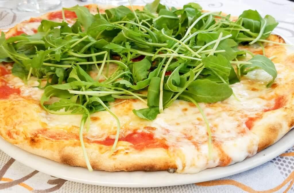 Lake Como pizza at Ristorante Pizzeria Bernina Bellano